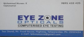 Eye Zone Opticals