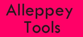 Alleppey Tools